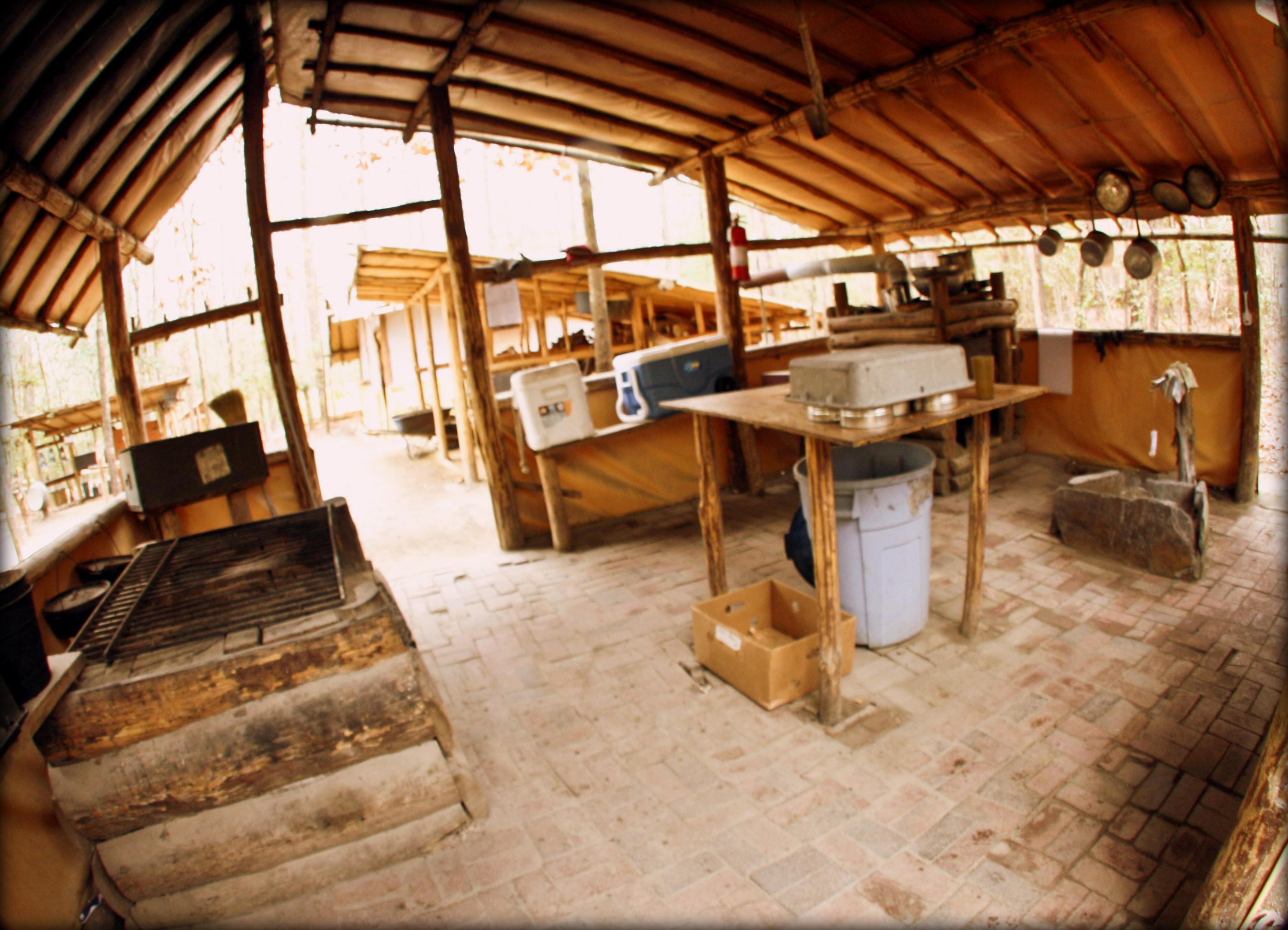 Cameron Boys Camp Cook Tent
