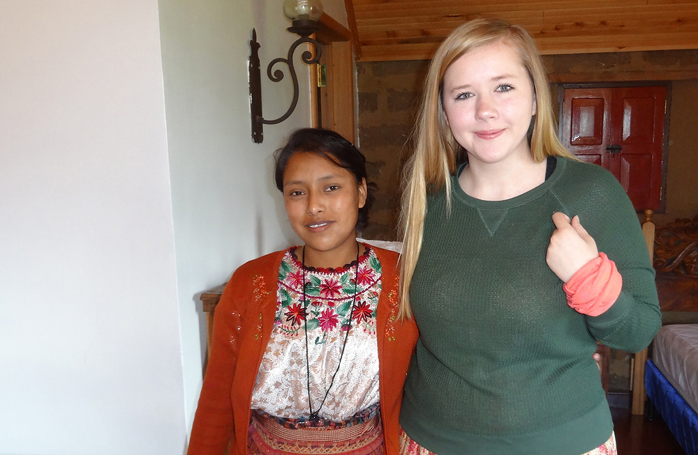 Broyhill Home resident realizes dream on mission trip to Good Shepherd's Children's Home in Xela, Guatemala