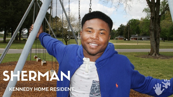 Sherman found help and hope at Kennedy Home