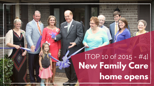 New home for single mothers and children in Marston, NC