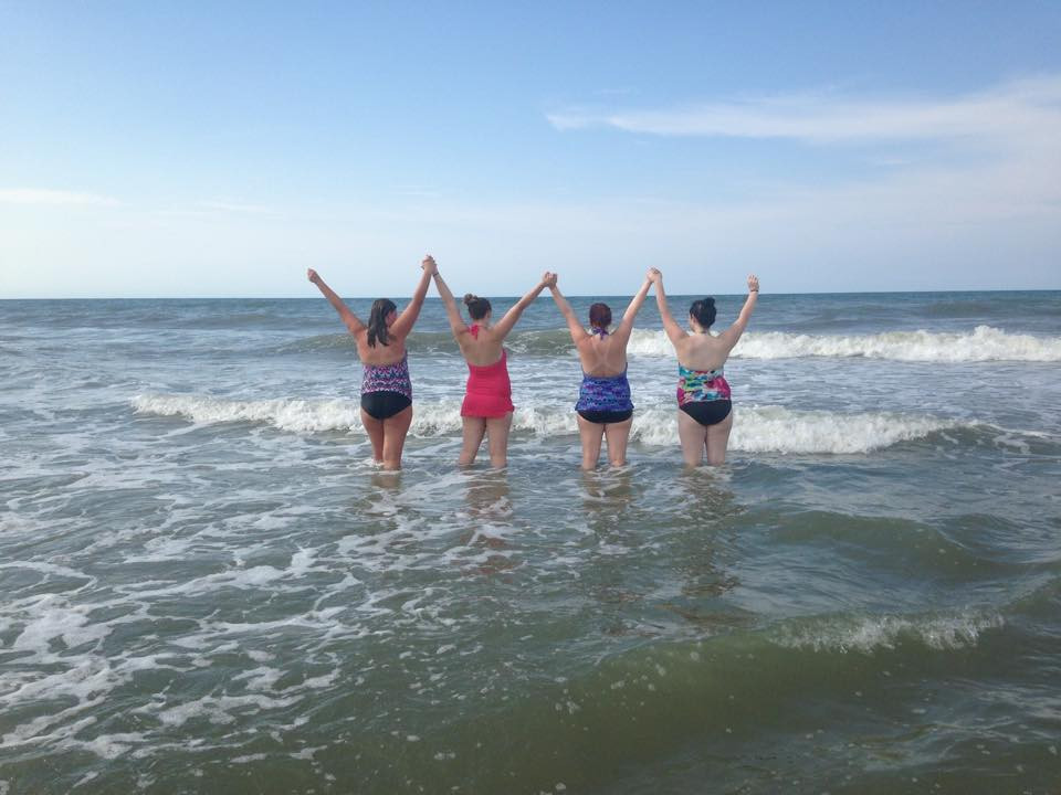Our Care House residents and their babies are enjoying the shore and God's beauty this week. Thank you for helping to create new memories for these teenage mothers and their little ones.