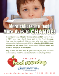 Food Roundup Flyer