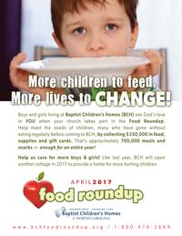 Food Roundup Flyer