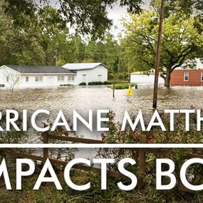 Hurricane Matthew Impacts BCH