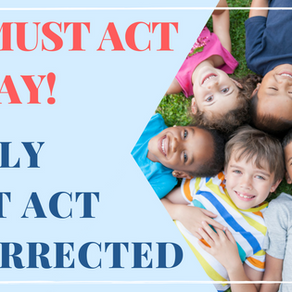 We must act immediately: Family First Act Resurrected