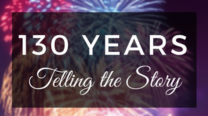 Fireworks celebrate 130 years of telling the story