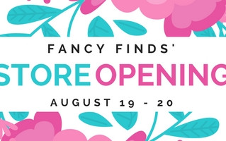 Fancy Finds opening their doors this weekend!