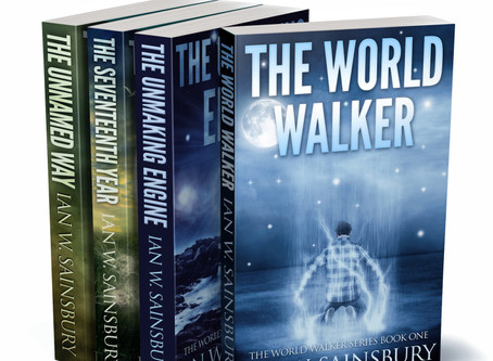 Attention, SF book bingers: I made a Box Set of The World Walker Series...