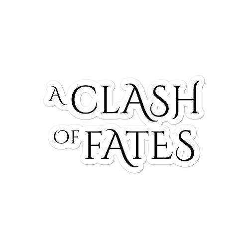A Clash of Fates sticker