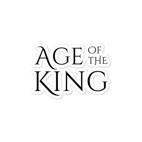 Age of the King sticker