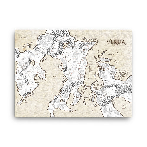 The Map Canvas