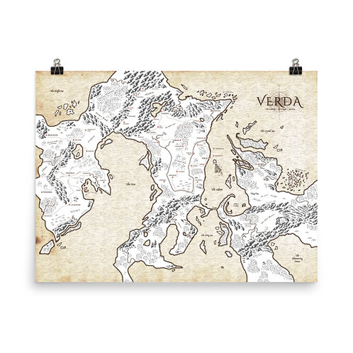 The Map Print