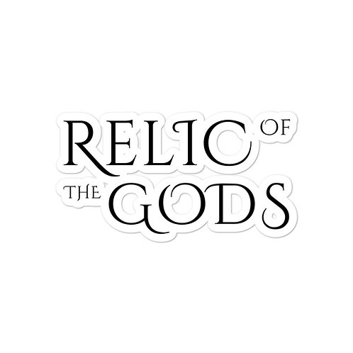 Relic of the Gods sticker