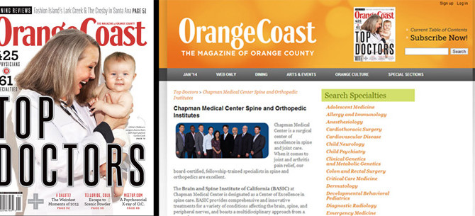 Orange Coast Magazine, January 2014