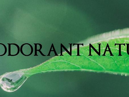 Grosses gouttes pour passer au déodorant naturel !