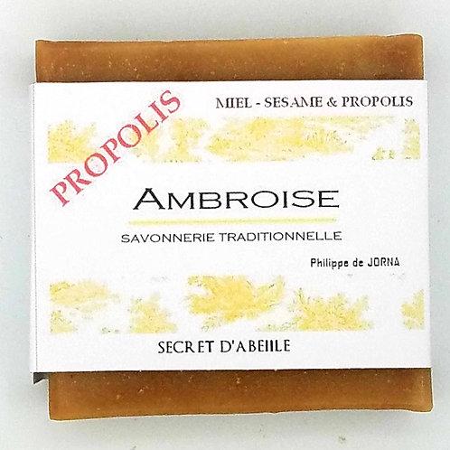 Savon hydratant miel propolis