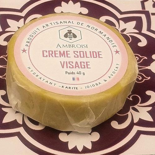 Crème Solide Visage