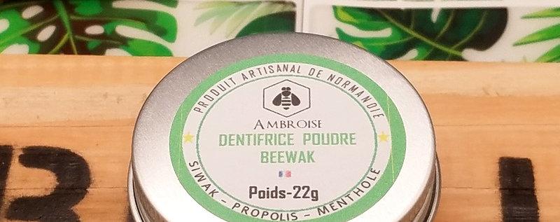 Dentifrice naturel en  poudre à la propolis | BEEWAK