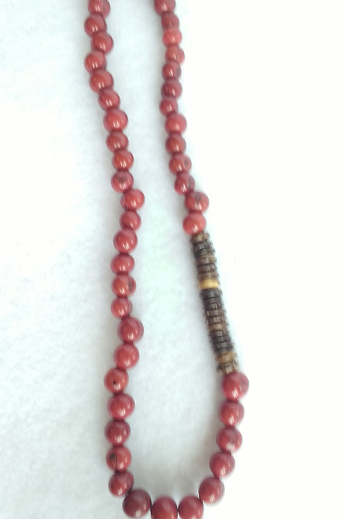 Acai Berry and Coconut Necklace