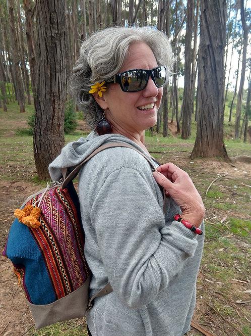 Bue Inca design Backpack
