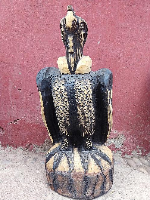 Wood Carving- Condor