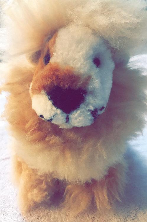 Alpaca Lion Stuffy
