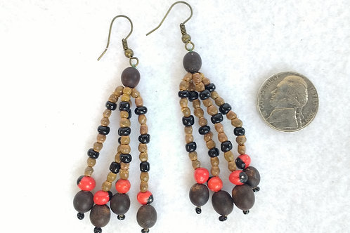 Seed and Berry Earrings