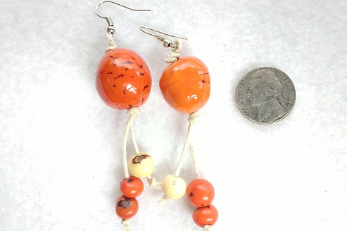 Palm Berry Danglers with Acai Berries, Orange