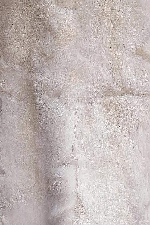 Large White Alpaca Rug