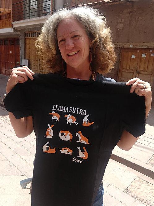 Black Llama Sutra T-Shirt