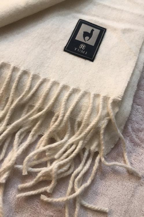 White Alpaca Blanket