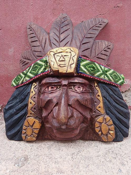 Wood Carving- Inka Mask