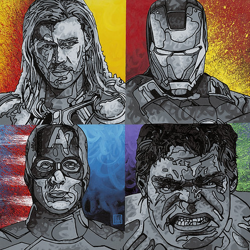 Avengers Giclée Print