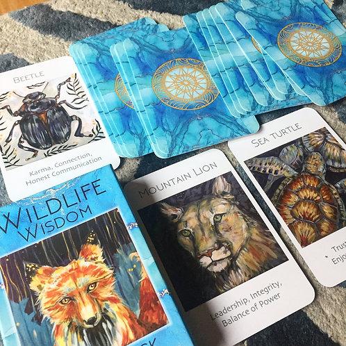 Wildlife Wisdom Oracle Deck