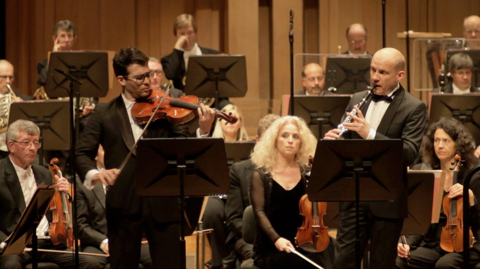 Max Bruch double concerto for viola and clarinet with the Belgian Natinonal Orchestra 2017, BOZAR, Brussels, Belgium