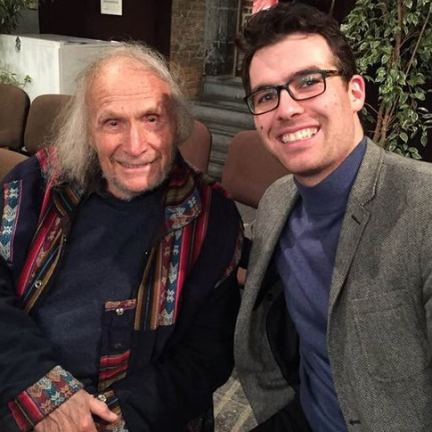 With Ivry Gitlis