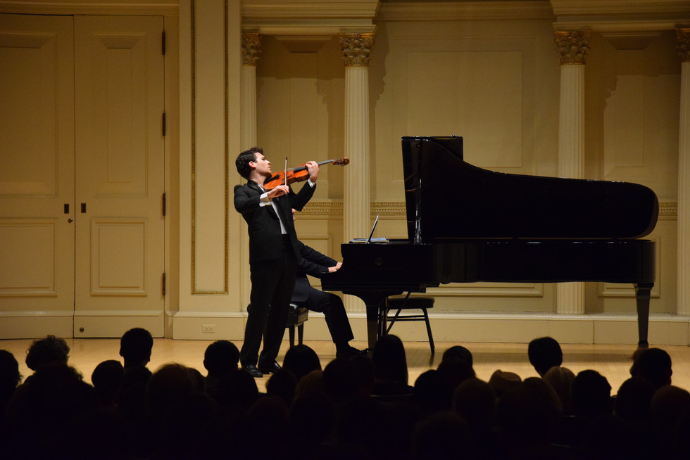 Carnegie Hall Recital 2016, New York City