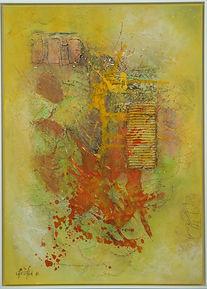 Christa Shana Ebling, Acrylbild Nr. 14