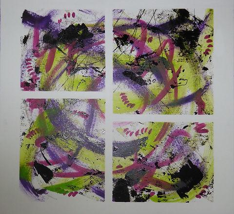Christa Shana Ebling, Acrylbild Nr. 9