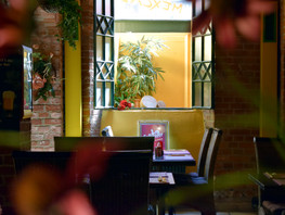 Mexcal Gastraum Fensterplatz
