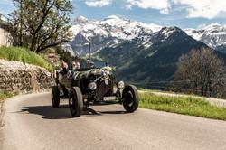Hot Rod auf dem Weg auf den Bühlberg