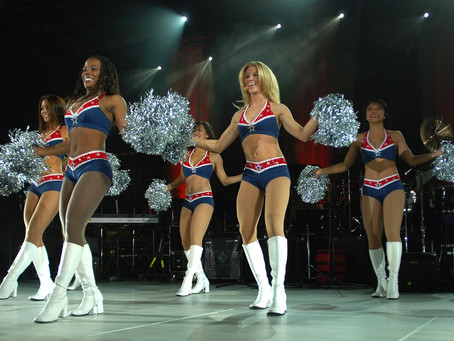C-O-P-Y-R-I-G-H-T and Cheerleading Uniforms