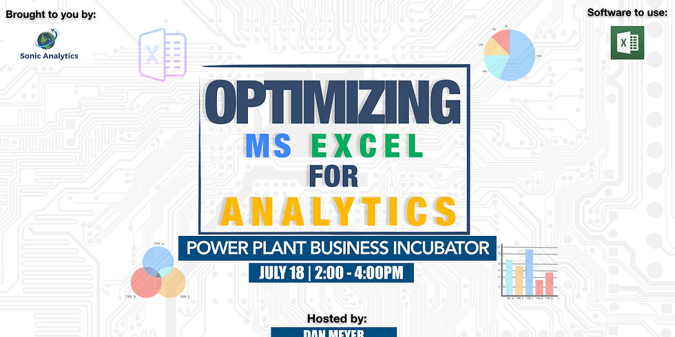 Optimizing MS Excel for Analytics