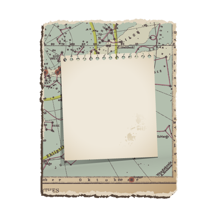 ヴィンテージ地図3