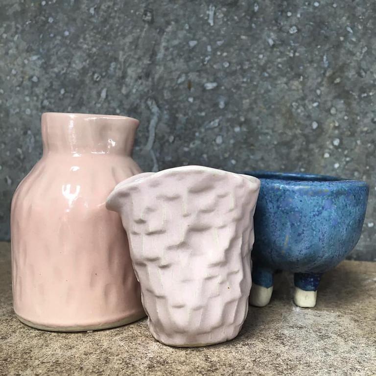 Ceramics for Newbies Term 3, Wednesday 9.30-12.30