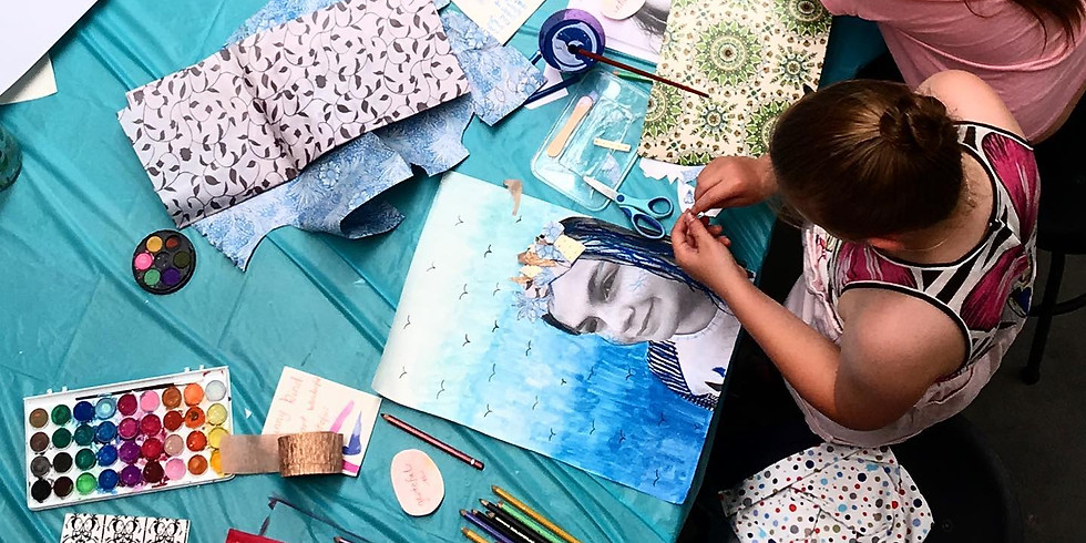 Ceramic & 2D Art- Ages 12 and up Term 3