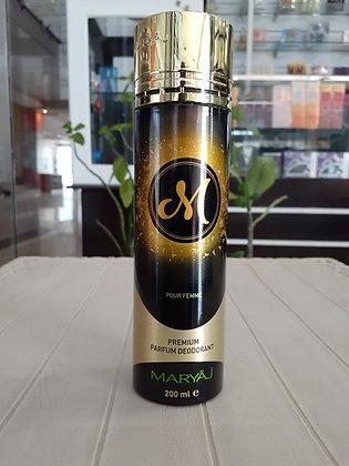 M Deodorant 200ml - Women (Dumar)