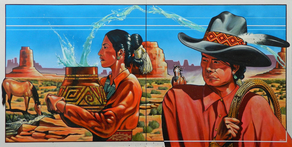 Tó'aheedliinii, The Water Flow Together Clan,