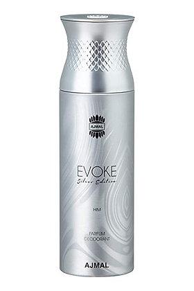 Evoke Silver Him Deodorant 200ml - Men (Rag)