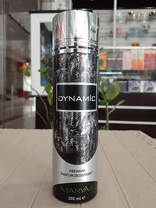 Dynamic EDP Deodorant 200ml - Women (Dumar)